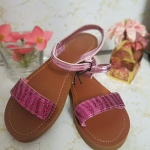 Other - Shimmer Sandals for little girl 💕